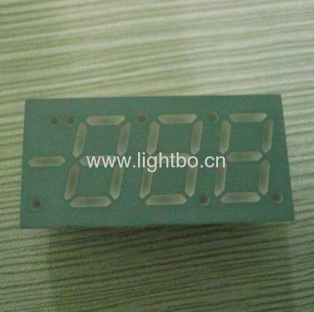 0.52 inch common anode ultra blue 3 1/2 digit 7 segment led displays for air conditoner control