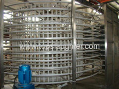 Tunnel Freezer for Sea Food Meat Vegetable Fish