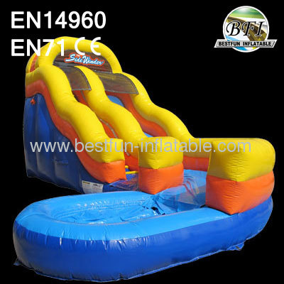 Inflatable Sidewinder Water Slide