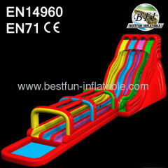 Large Inflatable Surf N Slide