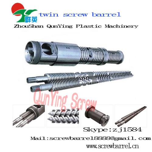 Conical bimetallic twin screw & barrel