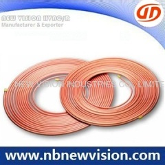 Refrigeration Inner Grooved Copper Coil