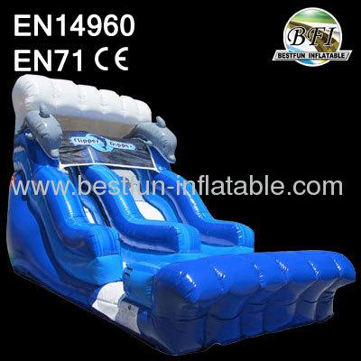 Inflatable Flipper Dipper Slide