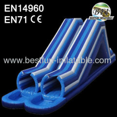 Inflatable Double Tube Slide