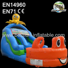 Inflatable Wet Dry Slide