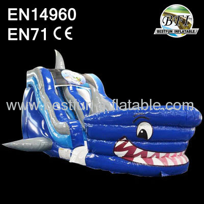 PVC Inflatable Shark Slide