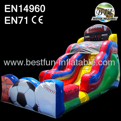 Inflatable Splash Slide For Sale