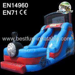 Inflatable Thomas Train Slide