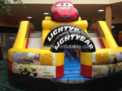 Cars Speedway Inflatable Tuskegee