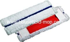 Blue and white color mop pad