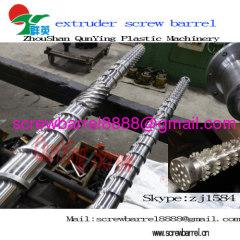 bimetallic extruder screw and barrels