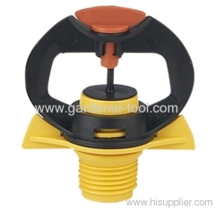 Plastic garden hose sprinkler for micro irrigation