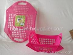 mini folding plastic basket