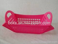 plastic folding fruit basket