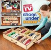 Shose under buggy bag Closet Organizer Under Bed Storage Holder Box Container Case Storer For 12 Shoes shoebox