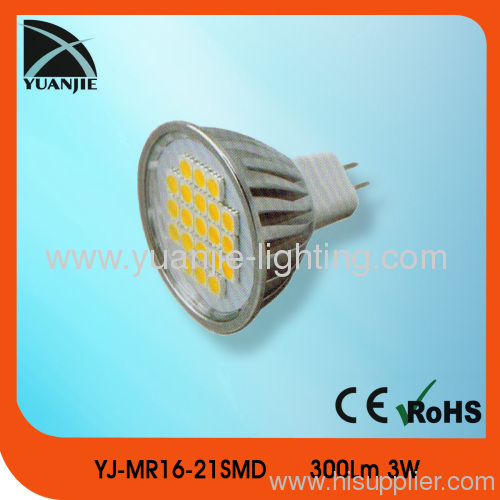 21 pcs SMD5050 led spot lamp