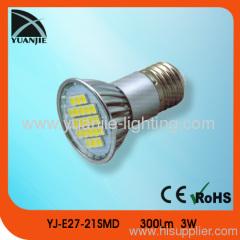 E27 5050 21 smd spot lamp