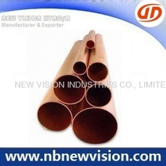 Straight Copper Pipe for Refrigeration
