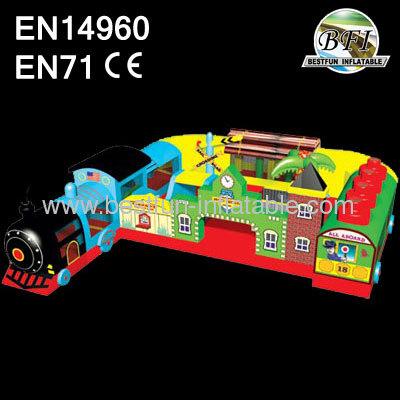 Thomas Train Inflatable Playground
