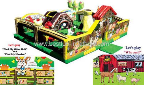 My Little Farm Inflatable Park