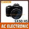 Canon PowerShot SX50 HS 12.1 MP 50x Zoom Digital Camera - Black