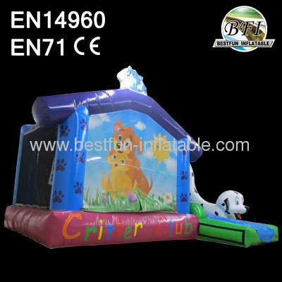 Inflatable Critter Club Bouncer