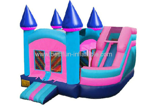 Princess Combo Twist Inflatable Slide Bouncer Combo