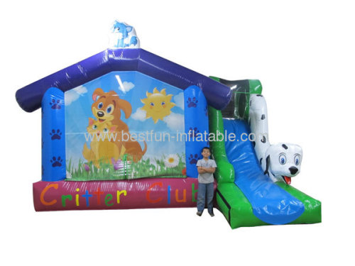 Critter Club Inflatable Bouncer Combo