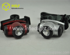 Plastic high power led headlight