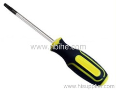 TORX Screwdriver With Ergonomic Soft Grip Handle