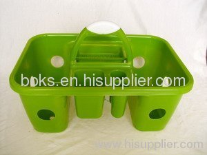 plastic bath baskets with handle