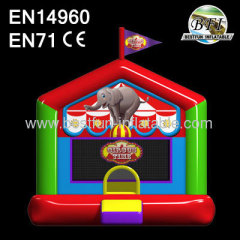 Inflatable Circus Time Bouncer