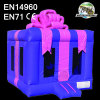 Inflatable Blue Gift Box Jumper