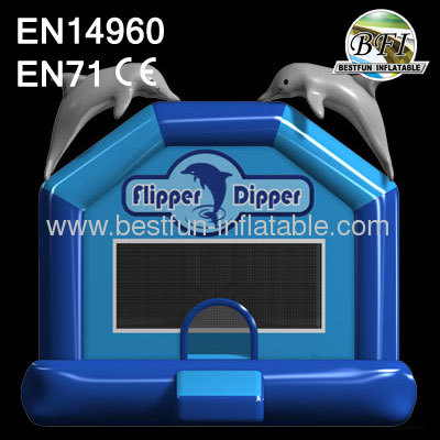 Inflatable Flipper Dipper Bounce House