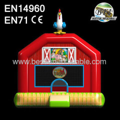 Inflatable Funny Farm Bouncer