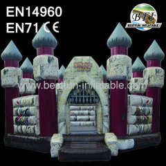 Giant Inflatable Sorcerer Castle