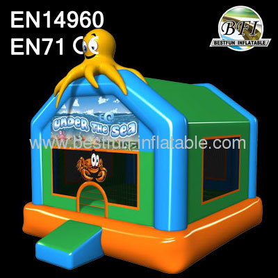 Sea World Party Inflatable Bouncer