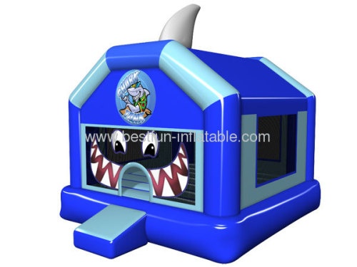 Shark Tank Inflatable Kids Bouncer