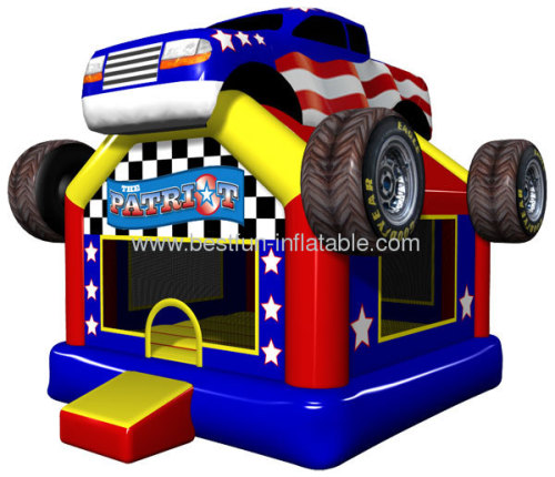 The Patriot Inflatable Theme Bouncer