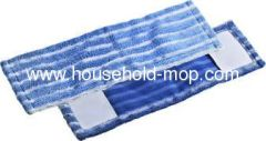 Industrial loop end wet cotton yarn mop head with tailband