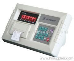 weighing indicator with EPSON printer XK3190-A1+P