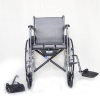 Economy steel manual wheelchair with toilet from manufacturer