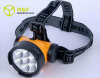 Plastic 7 Straw hat LED high power mining headlamp