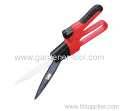 garden single hand grass trimming shear