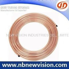 Air Conditioner Copper Pancake Coils - 50'/15M Length
