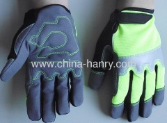 Fluorescent protective gloves & safety gloves 004