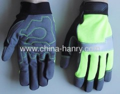 Fluorescent protective gloves & safety gloves 005