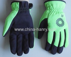 Fluorescent protective gloves & safety gloves 007