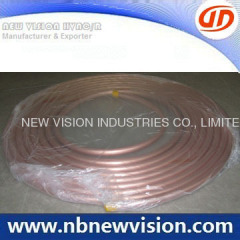 Copper Pancake Coil for ASTM B280 Standard