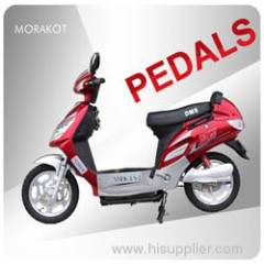 Europe 48V 250W Pedals Assited Electric Scooter